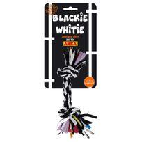 """Anka - Corde 2 Noeuds """"Blackie Whitie"""" Large - 37cm"""