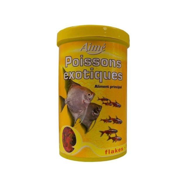Aime Aliment principal en flocons - Pour poissons exotiques - 1l