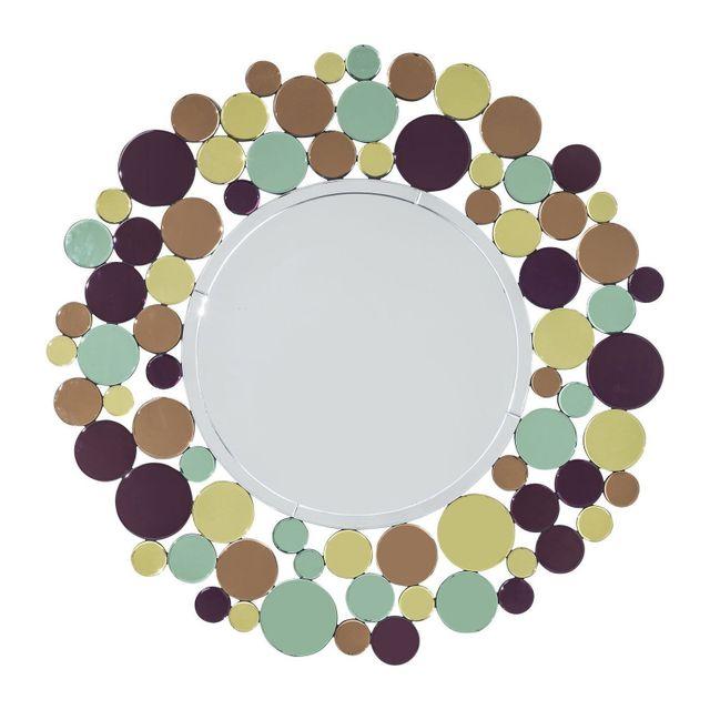 Karedesign Miroir Circle Crest 120cm Kare Design