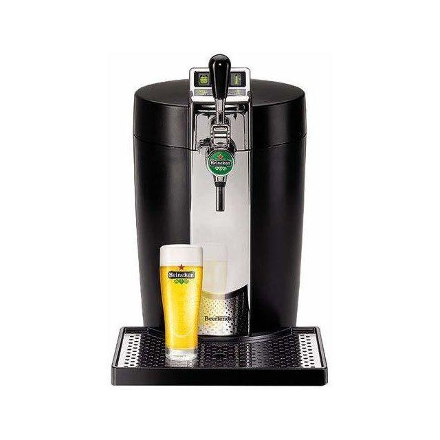 Krups Machine distributeur de bière tireuse de 5L 70W noir
