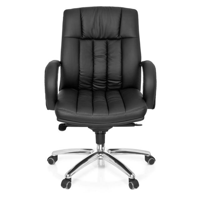 Hjh Office Fauteuil de direction Xxl G 100 simili cuir noir