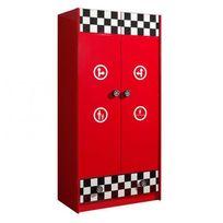 armoire enfant rouge - Achat armoire enfant rouge pas cher - Rue du ...