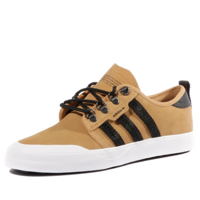 detailed look 37884 6ce5f Adidas - Seeley Outdoor Homme Chaussures Skateboard Marron Adidas  Multicouleur 37 1 3