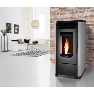 supra po le granul s de bois gris leni7gris gris et noir 51mm x 99mm pas cher. Black Bedroom Furniture Sets. Home Design Ideas