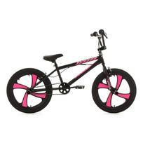 KS CYCLING - BMX Freestyle 20'' Cobalt noir-rose