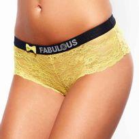 Pomm'POIRE - Lot de 3 shortys jaune Fabulous