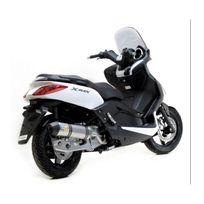Leovince - Silencieux Lv One Homologue Evo Ii Position Origine - Inox.X-MAX 125 2006/2012 Yamaha Xmax 125 2006/2012