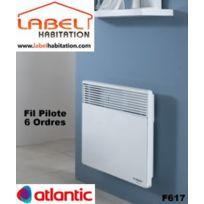 Atlantic - Convecteur électrique Fil Pilote 6 Ordres - F617 500W