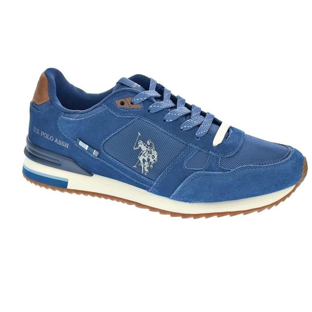 Polo Chaussures Us Homme Baskets basses modele Wilde Suede