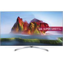 """LG - TV LED 55"""" 139 cm 55SJ810V - Argent"""