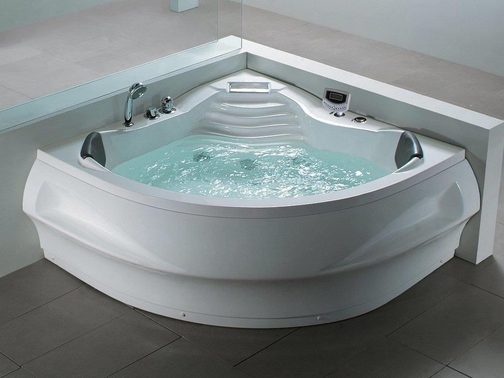 Baignoire d angle - baignoire balnéo - hydromassage et chromothérapie - Monaco