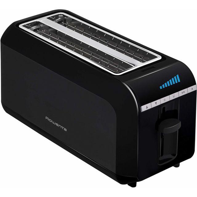 Rowenta Grille pain avec 2 fentes et écran Lcd intégré 1600W noir