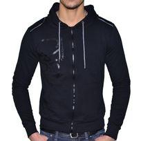 Calvin Klein - Veste Legere à Capuche - Homme - Cmq184 - Noir