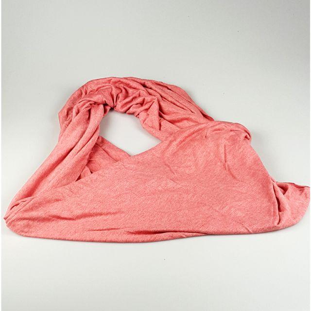 MAISON FUTEE - Écharpe tour de cou Snood Rose chiné - pas cher Achat    Vente Echarpes, foulards - RueDuCommerce 49d140bcdf2