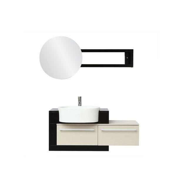 vasque et sous vasque Miliboo - Meuble de salle de bain : vasque, meuble sous vasque et.