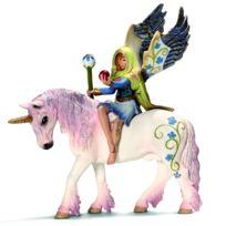 Schleich - Figurine elfe Bilara avec licorne