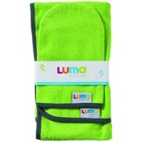 Luma - 0L009.05 - Set - Serviette + Gant De Toilette - Lime Green