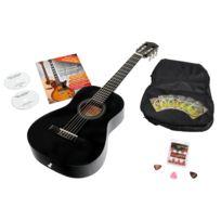 Antonio Calida - Calida Benita Guitare Classique 1/2 noir avec accessoires
