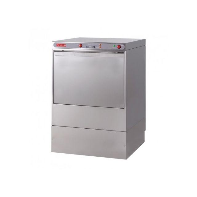 Gastro M Lave Vaisselle professionnel avec pompe vidange - 50x50cm - 400V 400V triphase