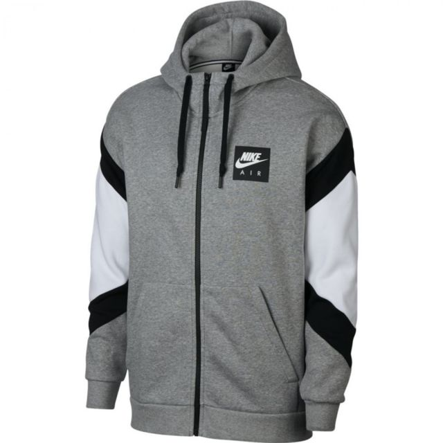 new cheap coupon codes best deals on Nike - Sweat à capuche Air Sportswear - 928629-063 Gris ...