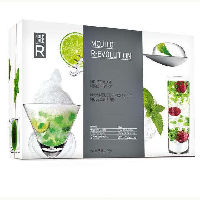 Touslescadeaux Kit Coffret Cuisine Moléculaire : Cocktail Mojito Moléculaire