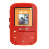 SANDISK - Lecteur Mp3 Bluetooth Clip sport plus 16GB Orange