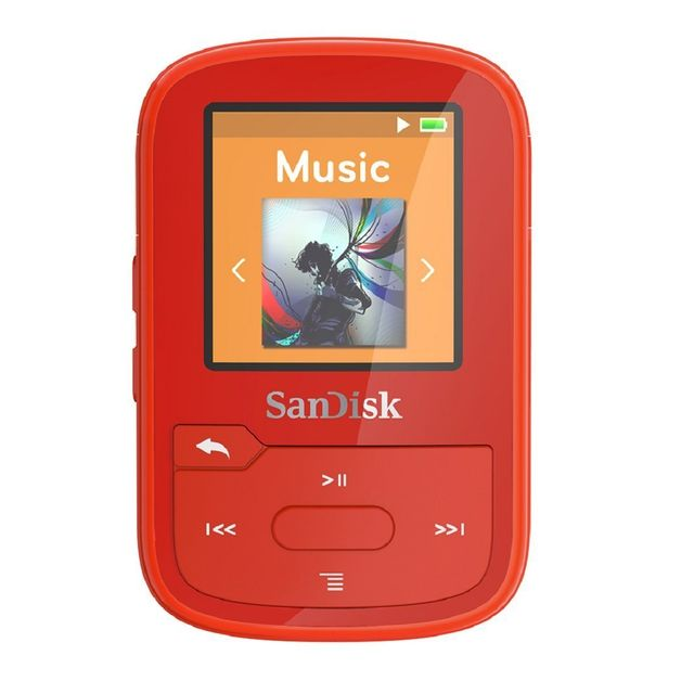 sandisk lecteur mp3 bluetooth clip sport plus 16gb orange pas cher achat vente ipod. Black Bedroom Furniture Sets. Home Design Ideas