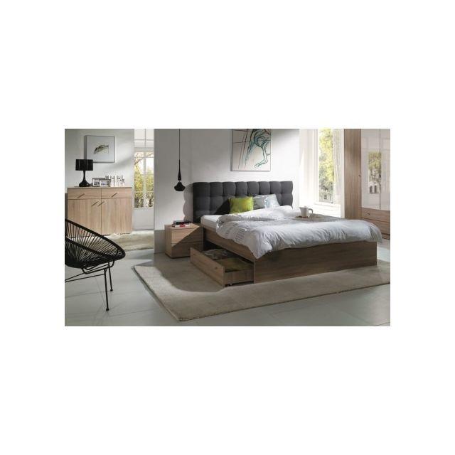 price factory ensemble pour chambre coucher maxim lit. Black Bedroom Furniture Sets. Home Design Ideas