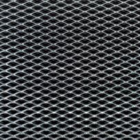 Foliatec - Grille Alu Maille Moyenne Argent 20X120