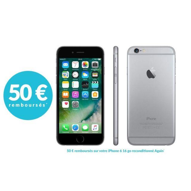 APPLE - iPhone 6 - 16 Go - Gris Sidéral - Reconditionné