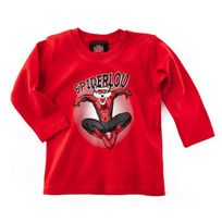 Lou Rugby - T-shirt Spider Lou Ml - taille : 6-12 Mois
