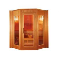 Vogue Sauna - Sauna Traditionnel Finlandais 4/5 places Gamme prestige GÖTEBORG Ii - L200 P175 H200cm