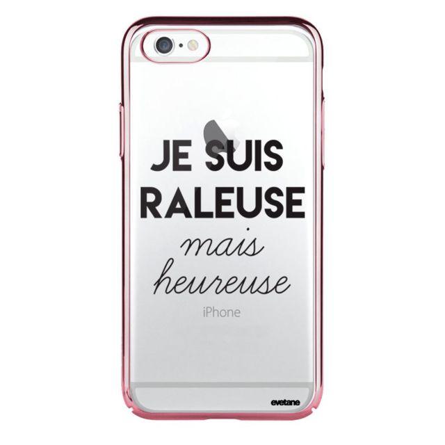 coque iphone 6 transparente raleuse