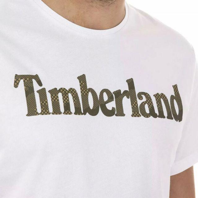 T shirt blanc homme Logo Multicouleur Xxl