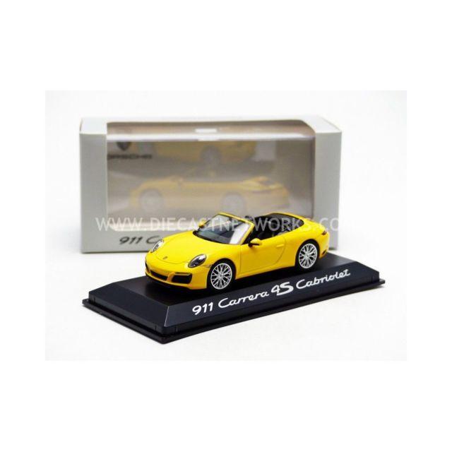 Herpa - 1/43 - Porsche 911 / 991 Carrera 4S Cabriolet - Facelift 2015 - 0201090G