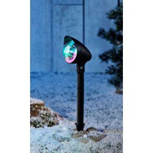No name projecteur led no l multi effets lumi re de couleurs en mouvement ext rieur ou for Projecteur lumiere de noel exterieur