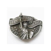 Universel - Boucle de ceinture statue de la liberté alu stand up america