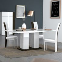 Table salle a manger grise - catalogue 2019 - [RueDuCommerce ...