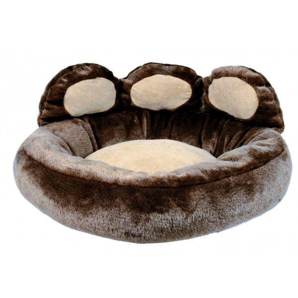 e234f728af69 Trixie - Panier brun Donatello pour chiens - pas cher Achat   Vente  Corbeille pour chien - RueDuCommerce