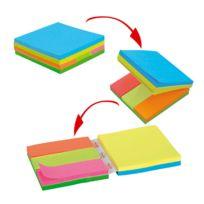 Post-it - Notes repositionnables multi-bloc 76 x 76 mm et 25 x 76 mm - bloc de 300 feuilles