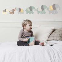 Art For Kids - Sticker famille éléphant