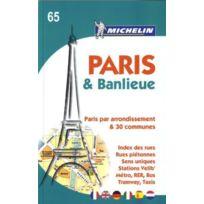 Michelin - Paris & banlieue ; par arrondissement