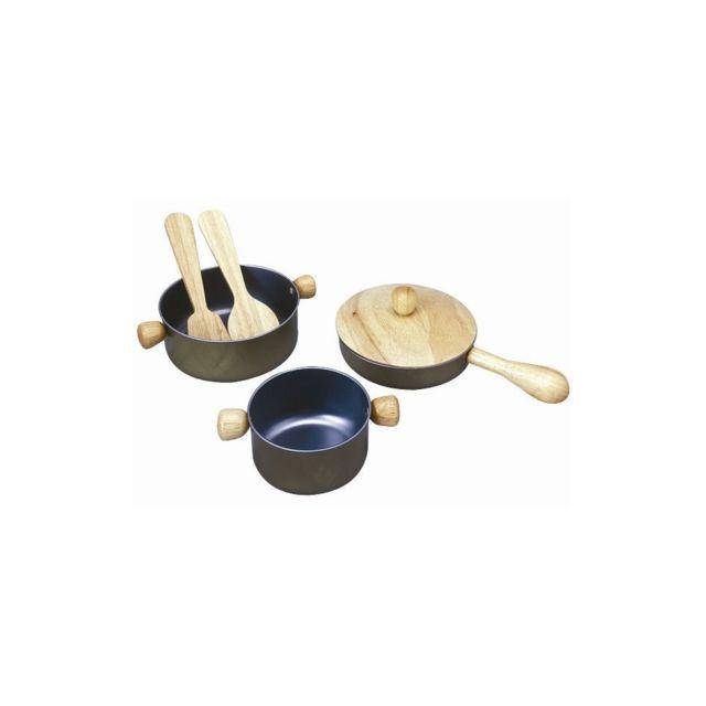 Plan Toys Plantoys - Jouets en bois - Ustensiles de Cusine