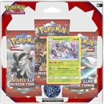 ASMODEE - POKEMON - Pack 3 boosters Pokémon SL04 Lune & Soleil - 3PACK01SL04