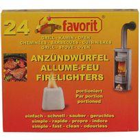Favorit - Allume barbecue-cheminée x24