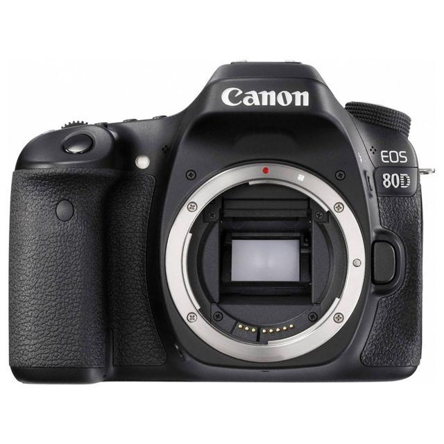 Canon Eos 80D nu Garanti 3 ans