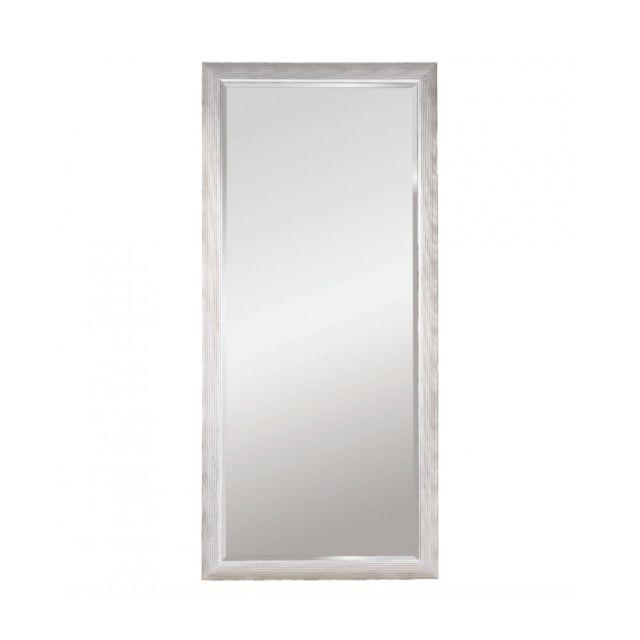 Deknudt Mirrors Miroir Athens Xl Silver Traditionnel Classique Rectangulaire Argenté 82x182 cm