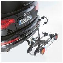 Mottez - Porte-vélos sur Attelage / Plateforme pour 2 vélos Montage immédiat sur boule d'attelage Porte-vélo plateforme attelage 2 vélos Premium Charge maximale de 30 Kgs Poids du porte-vélos: 15 Kgs Notice de montage: http://www.porteveloc