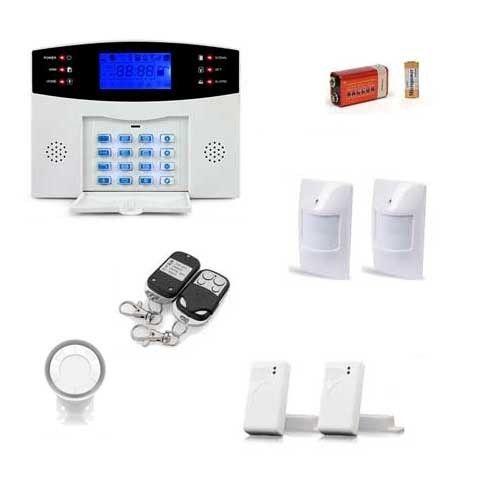 Securitegooddeal - Pack alarme sans fil, 99 zones Medium box