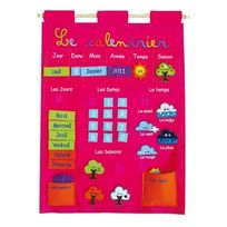 calendrier enfant tissu achat calendrier enfant tissu pas cher rue du commerce. Black Bedroom Furniture Sets. Home Design Ideas